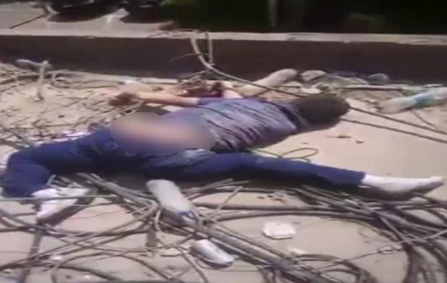 خودکشی دلخراش پسر دانشجو از روی برج+فیلم