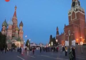 مسکو، آمادهی آغاز جام جهانی 2018 +فیلم