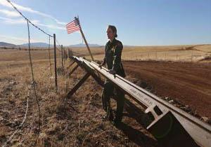 تصمیم آمریکا برای پیاده کرده الگوی دیوار حائل بین نوار غزه و مصر جهت ساخت دیوار مرزی در مکزیک