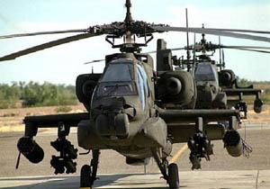 آمریکا بالگردهای تهاجمی آپاچی به هند میفروشد