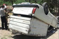یک کشته در تصادف محور خدابنده - زنجان