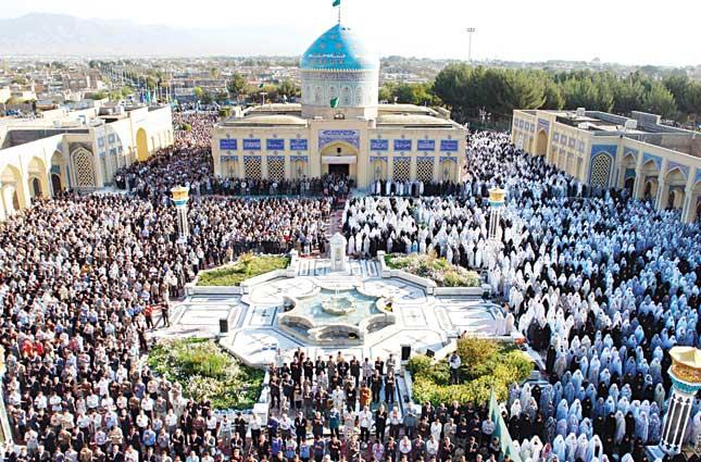 آرامگاه شهید مدرس آماده پذیرایی از ۳۰ هزار نمازگزار عید فطر