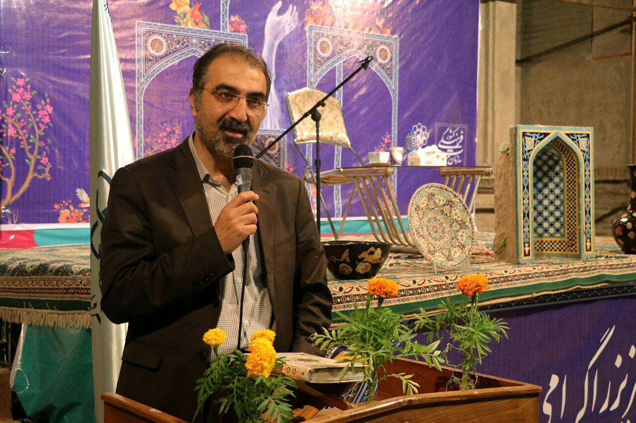 توسعه صنایع دستی در راستای حمایت از کالای ایرانی