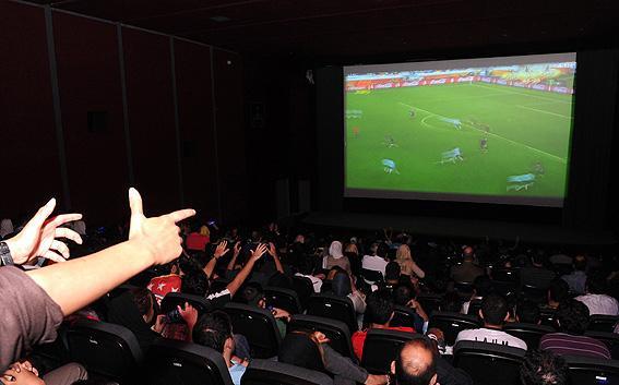 شروع فروش بلیط های فوتبال در سینماها