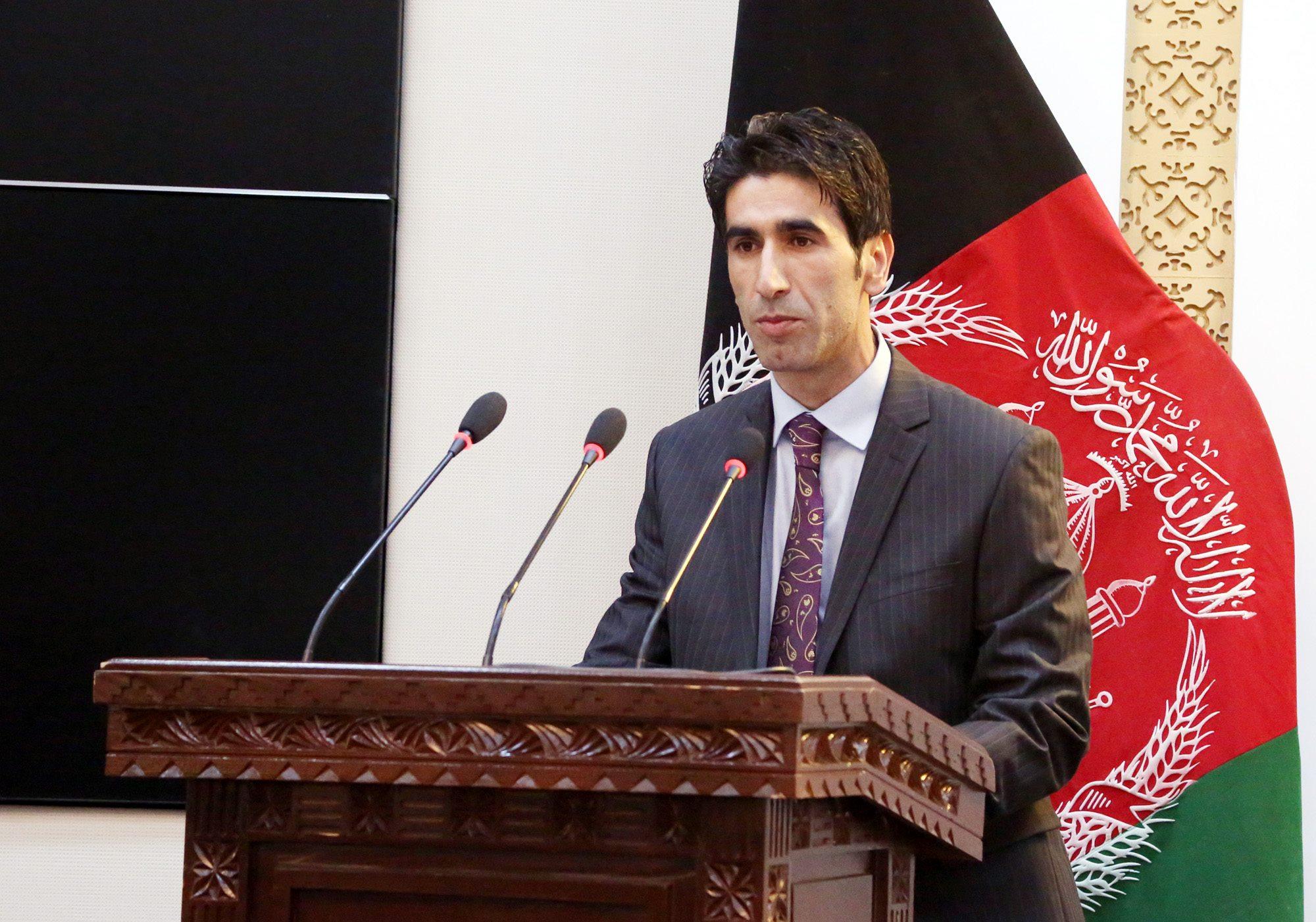 رئیس جدید محافظت ریاست جمهوری افغانستان معرفی شد