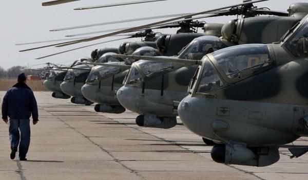 ناتو 50 بالگرد جنگی به نیروی هوایی افغانستان اهدا می کند