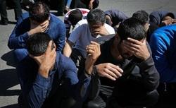 اجراي طرح پاكسازی و جمع آوری معتادان متجاهر در زنجان