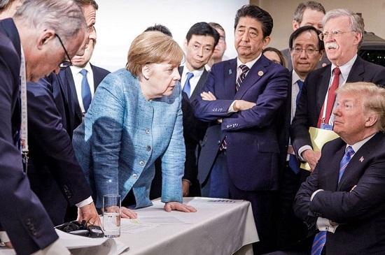 به انزوا رفتن کاخ سفید با اوج گیری اختلافات اروپا و آمریکا