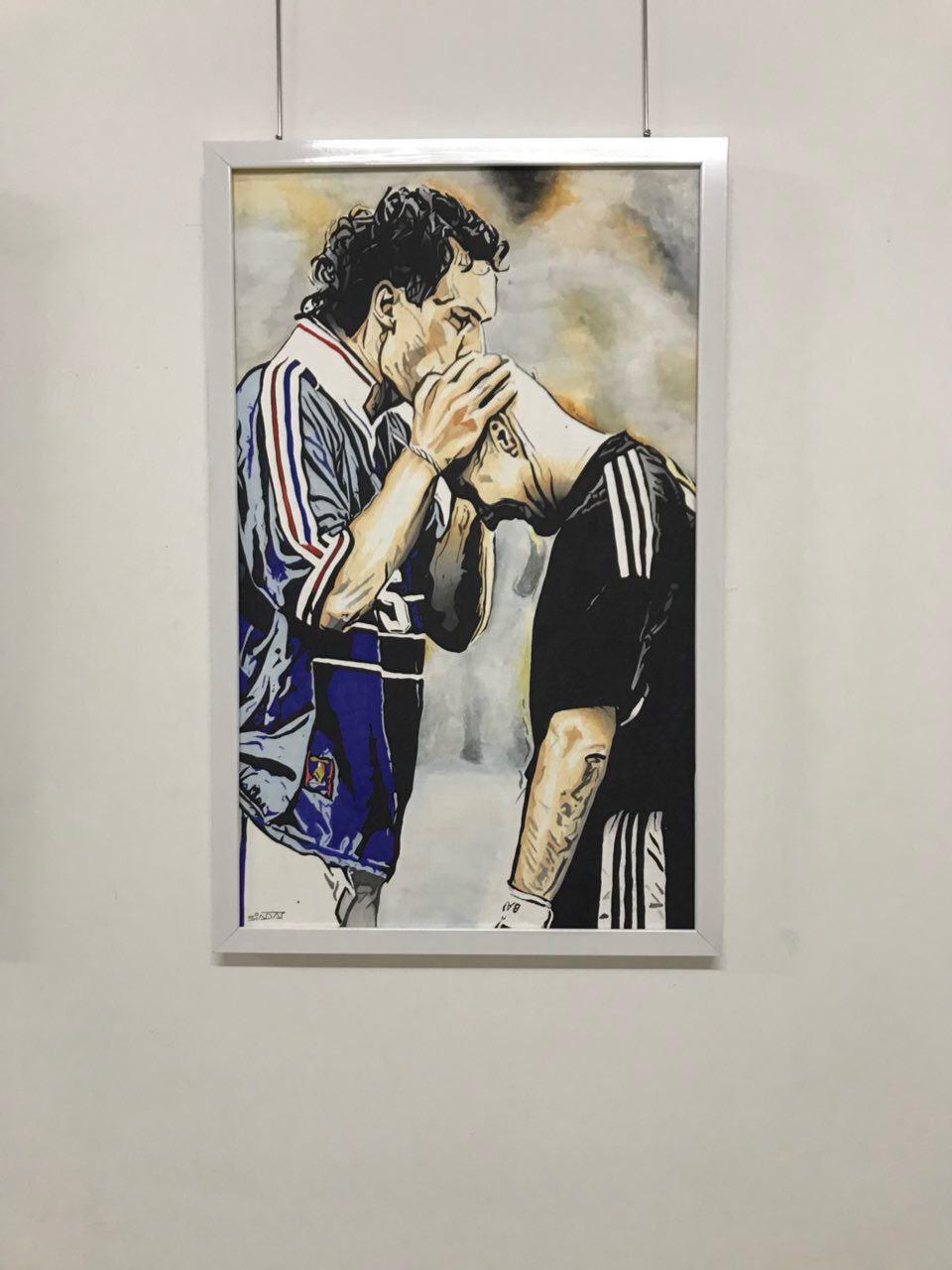 جام جهانی به سبک نقاشی