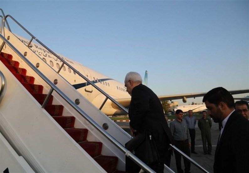 ظریف پرتوریا را به مقصد تهران ترک کرد