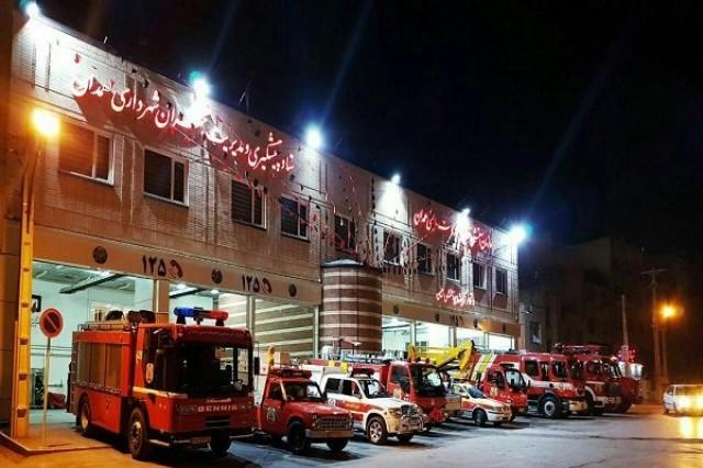 انجام 8 عملیات امداد و نجات در همدان