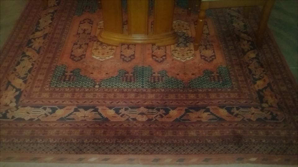 استفاده از قالی ساخت افغانستان در دیدار تاریخی ترامپ و کیم جونگ اون + تصویر