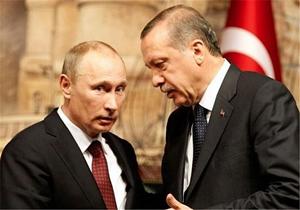 اردوغان به پوتین پیشنهاد همکاری داد
