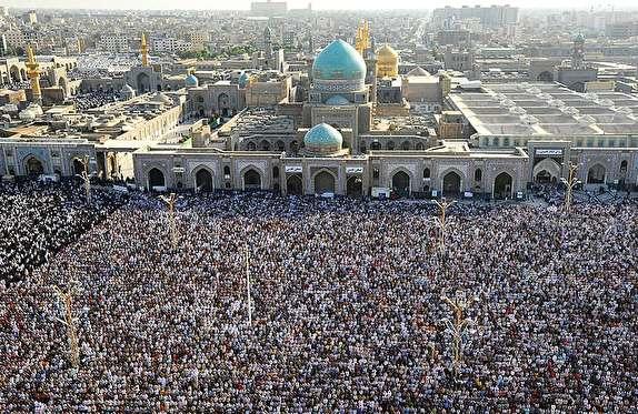 نماز عید فطر در حرم رضوی به امامت آیتالله علم الهدی اقامه میشود