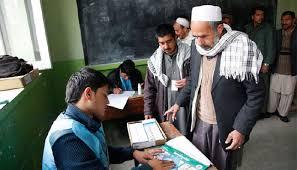 ثبت نام بیش از 6 میلیون شهروند افغانستان برای شرکت در انتخابات