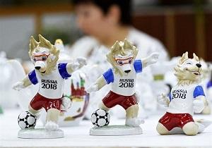 عروسکهای جام جهانی روسیه، چینی از آب درآمد! + فیلم