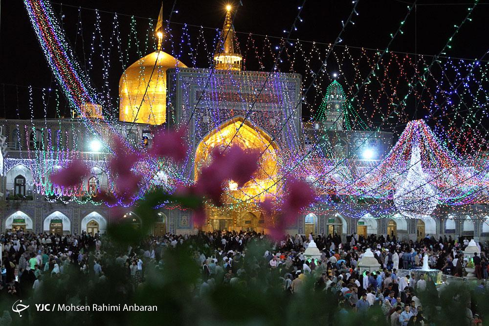برگزاری جشن عید فطر در حرم امام رضا (ع)