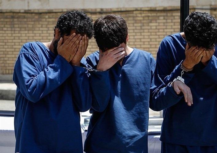 باند سه نفره سارقان مسلحی در جاده شیف دستگیر شدند