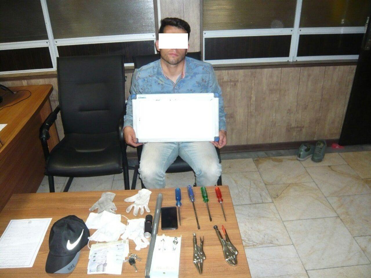 دستگیری سارقان جواهر هنگام فرار + عکس