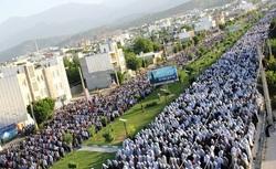 اقامه نماز عید سعید فطر در کهگیلویه وبویراحمد