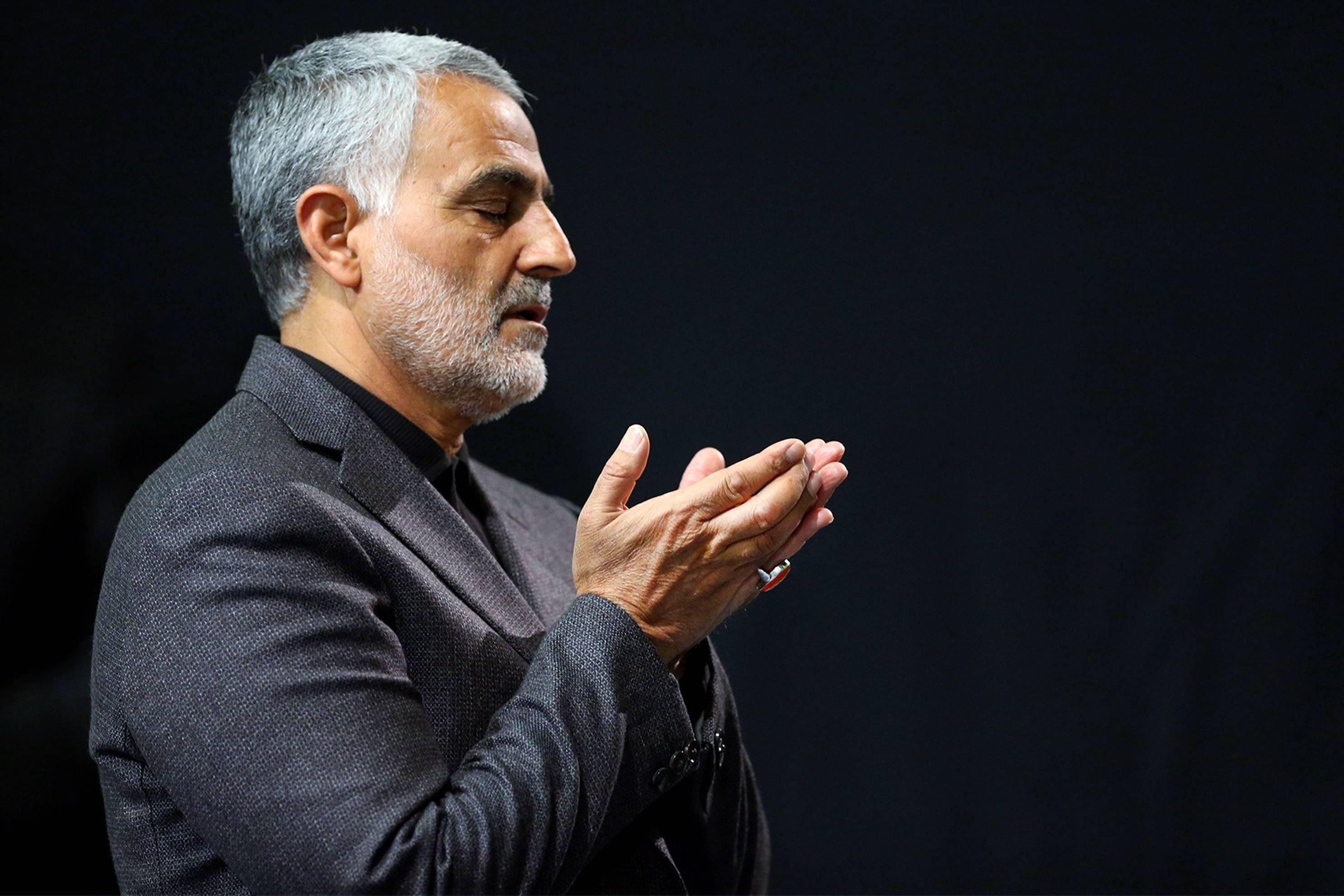 دعای ویژهی سردار سلیمانی برای رهبر انقلاب