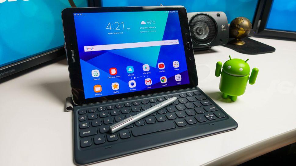 اضافه شدن اسکنر عنبیه به Galaxy Tab S4