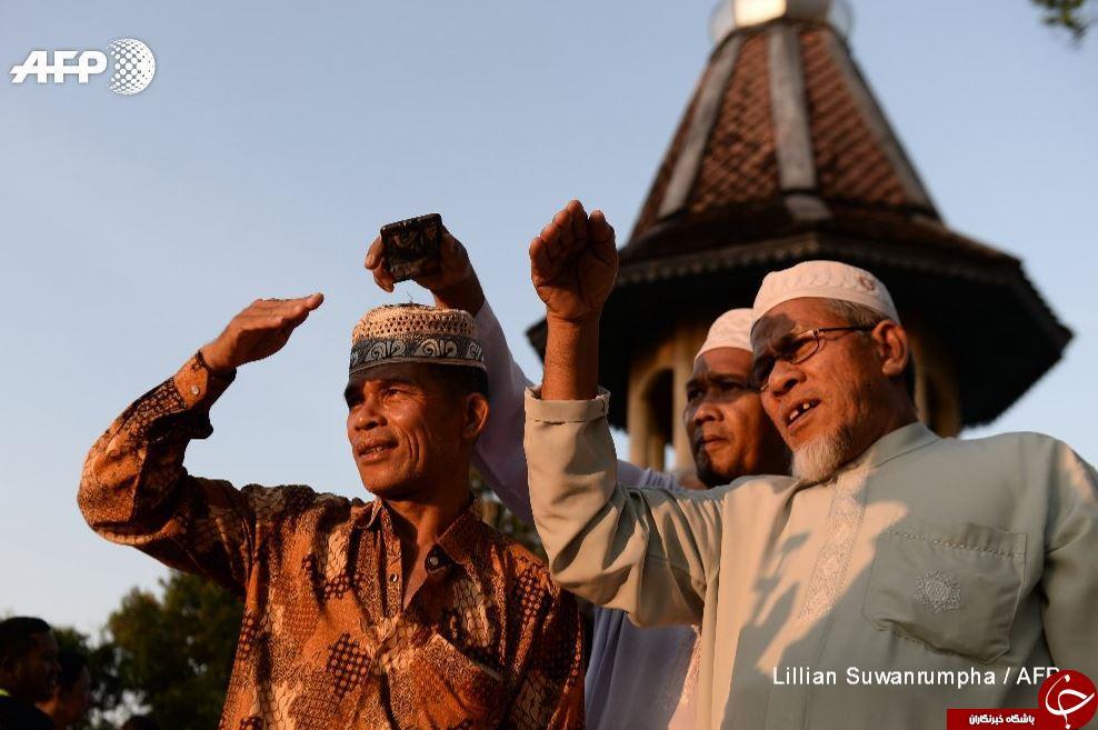 حال و هوای عید سعید فطر در سراسر جهان در آینه تصاویر