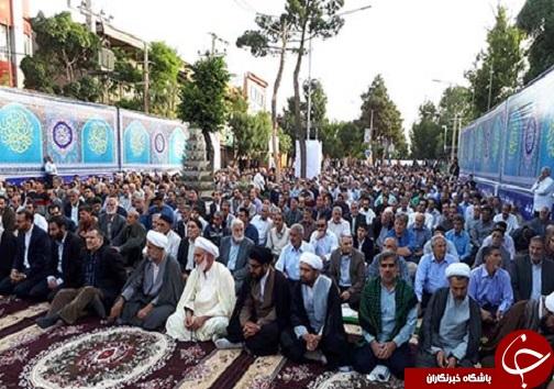 اقامه شدن نماز عید سعید فطر در لرستان