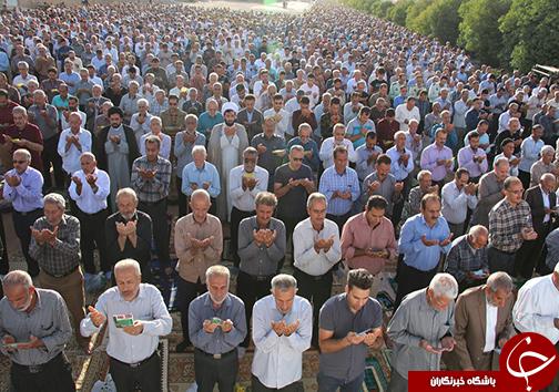برپایی نماز عید سعید فطر در سراسر فارس/نماز عید فطر به علت ازدحام جمعیت ۲ بار اقامه شد