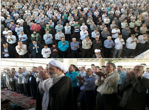 اقامه نماز عید سعید فطر در سراسر کشور + تصاویر