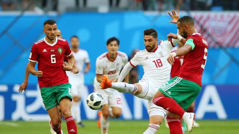 تا پایان نیمه نخست؛ ایران صفر - مراکش صفر + فیلم