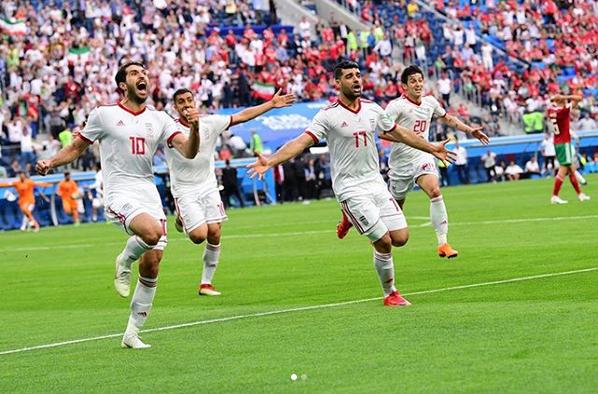 واکنش چهرهها به پیروزی ایران مقابل مراکش