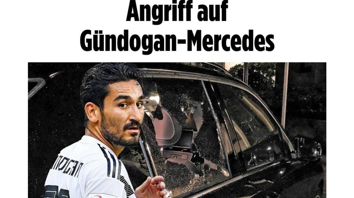 حمله هواداران به خودروی هافبک تیم ملی آلمان