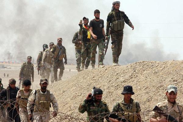 ادامه عملیات حشد الشعبی در بعقوبه عراق علیه بقایای داعش