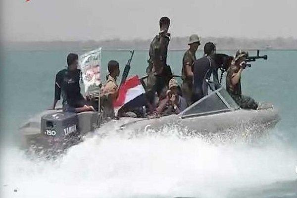توقیف قایق بیگانگان در ساحل الحدیده توسط یمنیها