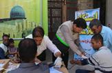 باشگاه خبرنگاران -خدمات رایگان پزشکی به یکهزار و ۱۸۷ نمازگزار عید فطر
