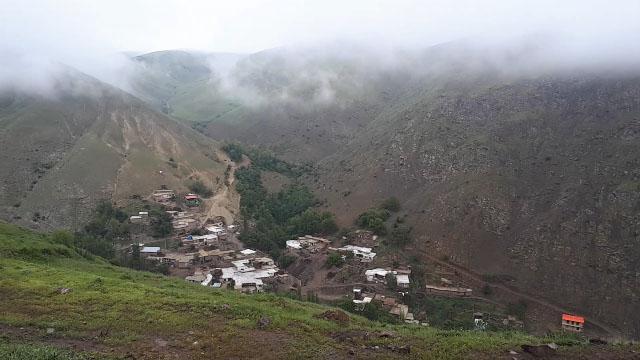 مناظری بینظیر از طبیعت در روستای اینجلیین + فیلم