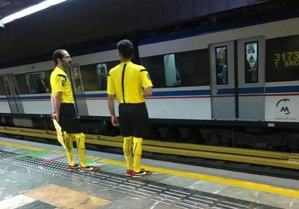تب و تاب جام جهانی در متروی تهران! + عکس