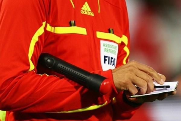 وقتی داور ایرانی به بازیکن آلمان تذکر جدی میدهد! + فیلم