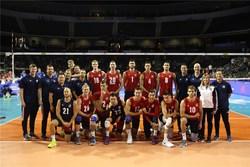 ایران صفر - امریکا ۳/ والیبالیستهای کشورمان با ۴ امتیاز ینگه دنیا را ترک کردند