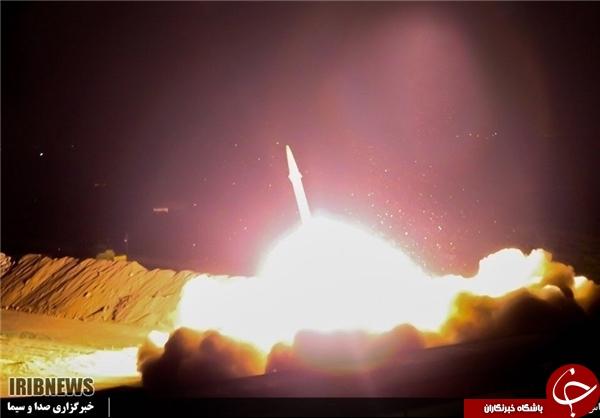نگاهی به مهمترین عملیات موشکی برون مرزی سپاه/ ۳ تُن آتش سپاه بر سر تروریستها