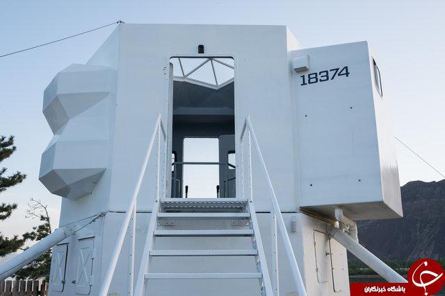 خانه ۲۳ متری شبیه فضاپیما