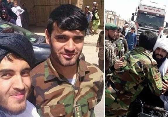 باشگاه خبرنگاران -طالبان: نیروهایی که با نظامیان دولتی سلفی گرفتند مجازات می شوند