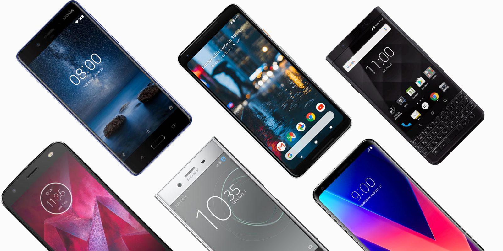 ۱۷ گوشی جدید به گوشیهای کسب و کار توسط گوگل اضافه شدند