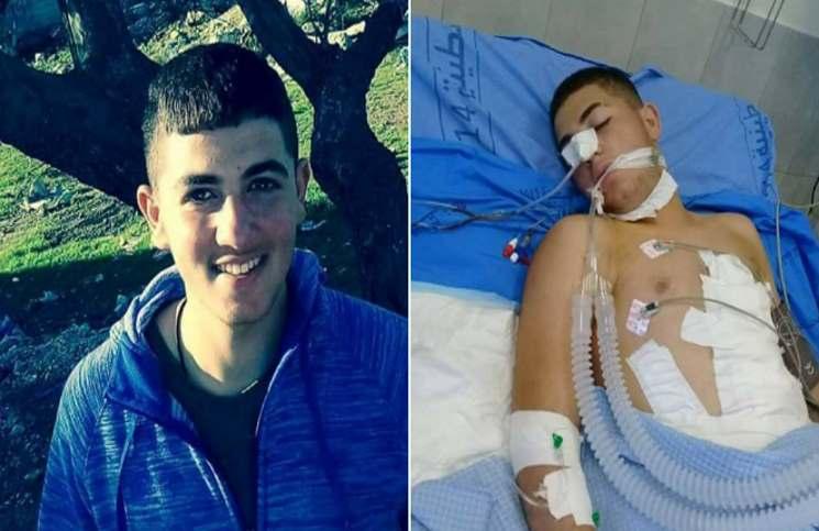 شهادت یک نوجوان فلسطینی در کرانه باختری