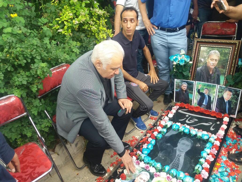 مراسم هفتمین سالگرد درگذشت ناصر حجازی آغاز شد