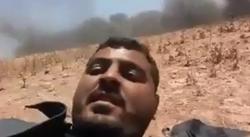 ویدئوی دلهرهآوری که جوان فلسطینی زیر باران گلوله منتشر کرد!