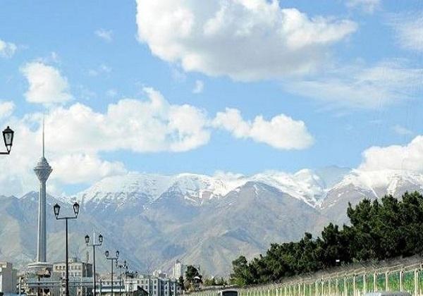 هوای تهران با شاخص ۴۲ در شرایط پاک است