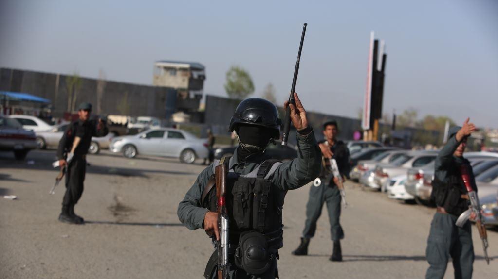 انفجار در یک مرکز انتخاباتی در غزنی