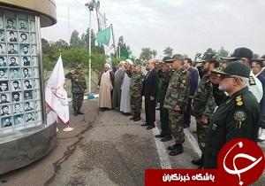 برگزاری صبحگاه نیروهای مسلح در قزوین